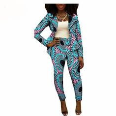Special Use: Traditional Clothing. Estimated delivery time 7 - 21 days Color: 16 Sleeve: Full Length: Ankle Lining: Top Season: Autumn African Print Pants, African Print Dresses, African Fashion Dresses, African Attire, African Wear, African Dress, Ankara Fashion, African Prints, African Outfits