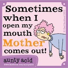 Aunty Acid - it's scary