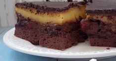 Hozzávalók: 120 gr Nocarb kakaós muffinpor 1,5 ek édesítő (1:4) 20 gr olaj 3 dl víz Gyümölcsös réteg: 25 dkg erdei gyümölcs - fagy...