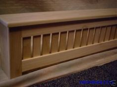 Awesome Wood Baseboard Cover