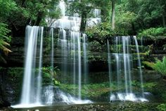 River Waterfalls Nature Forest Waterfall Wallpaper For Laptop