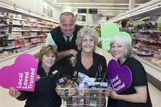 "AN ECCLESHALL woman has been named ""most loved"" customer by staff at her village grocery."