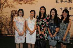 Professoras do Instituto Confúcio