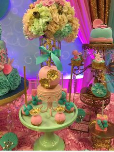 Mermaids Baby Shower Party Ideas | Photo 2 of 16