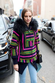 See what the style set is sporting to NYFW. These are the best 190 street style looks so far: