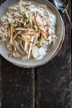 Apple Crumble Bircher - Cook Republic