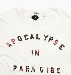 APOCALYPSE TEE - Blanc – The Critical Slide Society