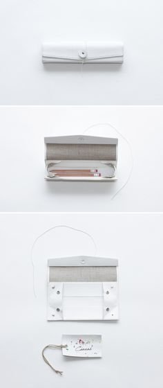 BLANK CANVAS PEN CASE from irose official website