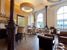 Bar Lounge - The Pincoffs Hotel, Rotterdam, Netherlands.