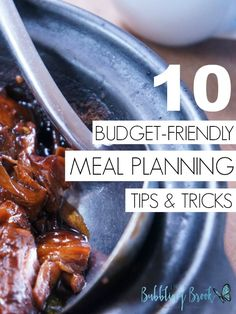 10 Best Budget-Friendly Meal Planning Tips