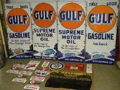 Vintage Auto, Vintage Metal, Vintage Signs, Old Gas Stations, American Manufacturing, Porcelain Signs, Garage Signs, Old Signs, Lighthouses