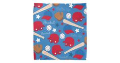 #SOLD Baseball Bandana #GiftsWithPatterns #Sports #Baseball #Kids #Gifts #Zazzle