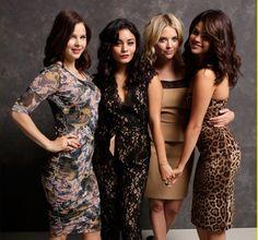 Spring Breakers stars: Rachel Korine, Vanessa Hudgens, Ashley Benson & Selena Gomez