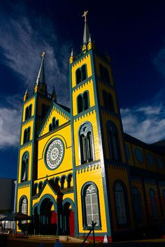 Paramaribo Church, Suriname by Daleduro, via Flickr