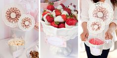 Great Party Idea, you can never go wrong with dipped strawberries