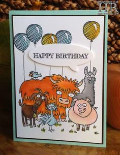 All Things Stampy: Happy Birthday From The Herd