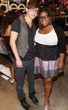 Kevin McHale, Amber Riley