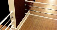 Descubre lo prácticas que pueden ser las barras de las cortinas de la ducha con estos 15 trucos