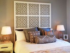 Headboard ideas for the guest bedroom