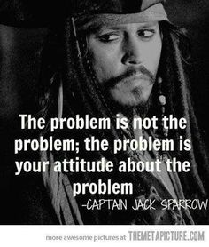 <3 The problem is not the problem; the problem is your attitude about the problem Love this from Chic Critique Forum!