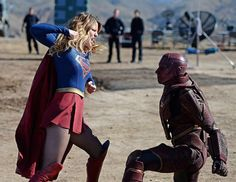 """Hailed by critics as one of the best episodes of the season, Supergirl showed off a wide range of emotions last night as the Red Tornado touched down in National City. Our writer's got her weekly recap for you in her series, """"Fly Like A Girl."""" #supergirl #dccomics #melissabenoist #redtornado #comicbooks #tvshows"""