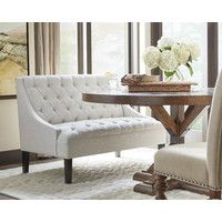 Banquette Upholstered Entryway Bench