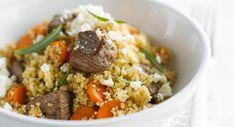 Couscous à l'agneau Couscous Express, Beignets, Fried Rice, Mashed Potatoes, Fries, Beef, Cooking, Ethnic Recipes, Food