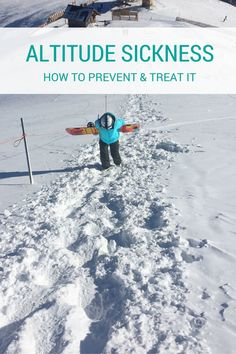 Altitude sickness occurs when a person increases their elevation too quickly. Find out how to tell if you are experiencing altitude sickness and what to do about it. Altitude Sickness Prevention, Mount Kilimanjaro, Winter Scenes, List, Park City, Travel Tips, Travel Ideas, Adventure Travel, Travel Inspiration