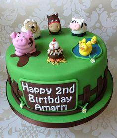 1000 Images About Farm Fondant Cake On Pinterest Farm