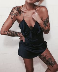 There are many explanations for why girls love tattoos. Small tattoos arrive in various styles and you may choose according to your own personal taste. A lot of people prefer small tattoos since they are simple to hide and look… Continue Reading → Sexy Tattoos, Body Art Tattoos, Small Tattoos, Girl Tattoos, Tatoos, Feminine Tattoos, Forearm Tattoos, Inner Thigh Tattoos, Tattoo Girls