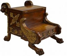 federal period bed step
