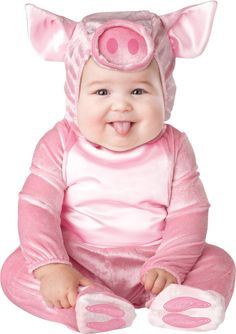 The Infant Toddler This Lil Piggy Costume is the best 2019 Halloween costume for you to get! Everyone will love this Baby/Toddler costume that you picked up from Wholesale Halloween Costumes! Halloween Bebes, Cute Baby Halloween Costumes, Pig Costumes, Toddler Costumes, Cute Costumes, Halloween Outfits, Yoda Halloween, Costume Ideas, Baby Animal Costumes