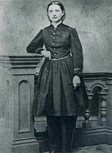 Mary Walker (1832 - 1919)  The only woman ever to win the Congressional Medal of Honor was best known during her life as a feminist, abolitionist, surgeon... and the woman who insisted on wearing pants! Mary Edwards Walker was one of America's first female doctors