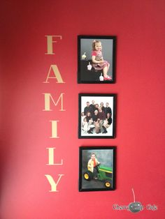 FAMILY  Vinyl Wall Saying by CherryChipCafe on Etsy, $26.00