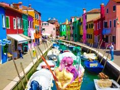 BURANO This riot of colour. | 27 Pictures That Prove Sunshine Is Real