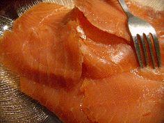 Gravad lax, or cured salmon recipe. Classic swedish and scandinavian recipe.