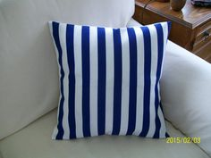 Boating Stripes by hmishke on Etsy, Nautical Pillow Covers, Nautical Pillows, Boating, Stripes, Throw Pillows, Trending Outfits, Handmade, Etsy, Home