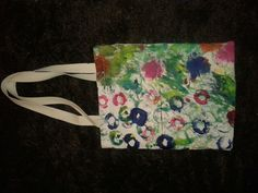 Bag, selfmade by Fleur Broes #textile #paint #acryl #DIY
