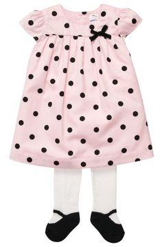 TOPSELLER! Carter`s Baby-girls Dress Set with Ti... $19.49