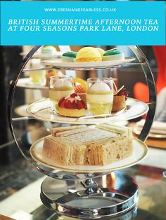 British Summertime Afternoon Tea At Four Seasons London - Fresh And Fearless Four Seasons, Afternoon Tea, Summertime, British, Journey, London, Fresh, Drink, Park