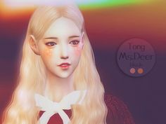 Lovely blush for cute girls  Found in TSR Category 'Sims 4 Female Blush'