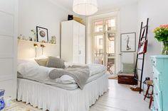 DECO: Un bonito piso todo blanco