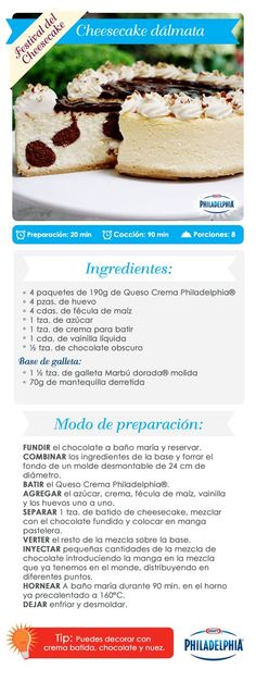 Disfruta un delicioso Cheesecake, ¡prepáralo para tu familia!   recipes   Pinterest
