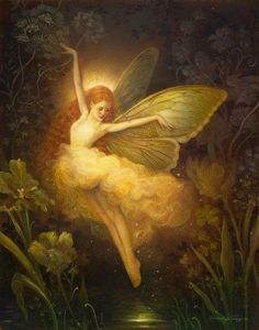 Tinker Bell Annie Stegg Fine Art www.gallerygerard.com