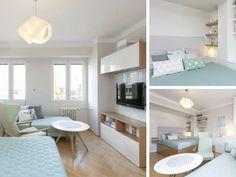 Výsledek obrázku pro obývák a ložnice v jednom Home Decor, Decoration Home, Room Decor, Home Interior Design, Home Decoration, Interior Design