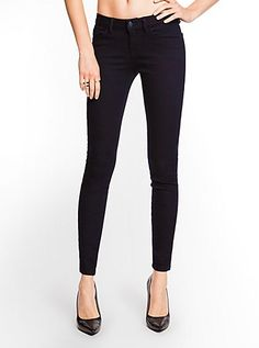 212e4518173aac Guess Brittney Legging Stretch Women's Black Ankle Jeans Size 31 X 29 New!