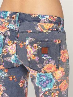 BTN6Sunburners 2 Jeans by Roxy - DTL1