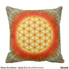 Blume des Lebens - Sonne II Kissen