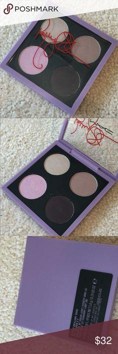 MAC - Duchess Eyeshadow Quad - Limited Edition x4 EyeShadow, Femme Fatal (Golden brown -Satin), Embark (Dark Reddish Brown - Matte), Sexy Eyes (Soft Warm Bronze - Veluxe Pearl), Sweet Eyes (Light Golden nude - Veluxe Pearl) MAC Cosmetics Makeup Eyeshadow