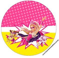 Rótulo-para-Tubetes-Barbie-Super-Princesa-Rosa